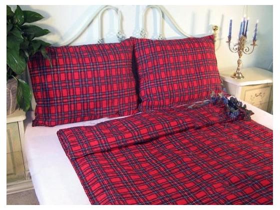 Posteľné obliečky: Škótske káro