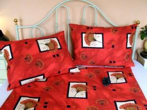 Posteľné obliečky: Poniklec červený