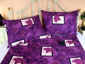 Posteľné obliečky: Poniklec fialový