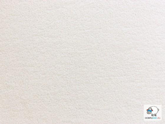 Plachta froté biela
