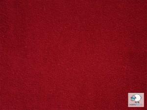 Plachta froté červená