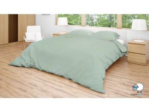 Posteľné obliečky: Zelené kosoštvorce