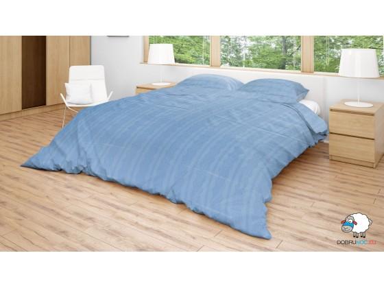 Posteľné obliečky: Modrá výšivka