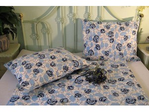 Posteľné obliečky: Modrá ruža