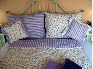 Krepové posteľné obliečky: Levanduľa