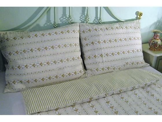 Krepové posteľné obliečky: Staročeský venček